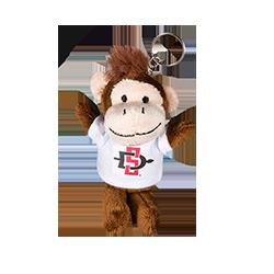 shopaztecs - SD Spear Plush Monkey Keytag 22fe197525f8