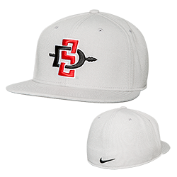 Nike SD Spear Fitted Cap-Gray