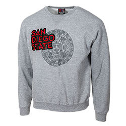 shopaztecs - San Diego State Aztec Calendar Sweatshirt 8d2a82117