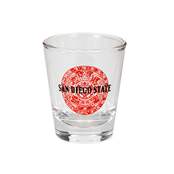 San Diego State Shot Glass