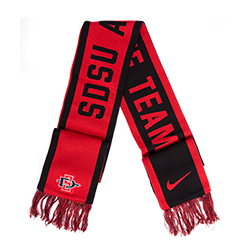 2018 Nike Sideline Reversible Scarf- Red & Black