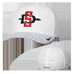 e3f8124b5eff 2018 Nike SD Spear Sideline Cap- White   Gray