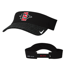 2018 Nike SD Spear Sideline Adjustable Visor- Black