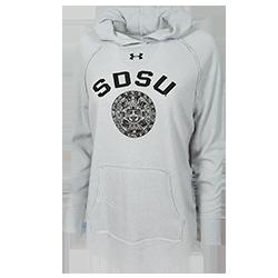 shopaztecs - Women s Under Armour SDSU Hood Sweatshirt a4373f1eb