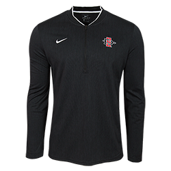 2018 Nike Sideline SD Spear 1/2 Zip Jacket-Black