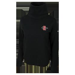cf8200b70000 shopaztecs - 2018 Women s Nike Sideline Crop Sweatshirt
