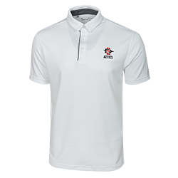 Under Armour SD Spear Aztecs Polo -White