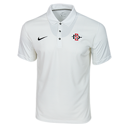 2018 Nike Sideline SD Spear Polo-White
