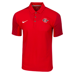 2018 Nike Sideline SD Spear Team Issue Polo-Red