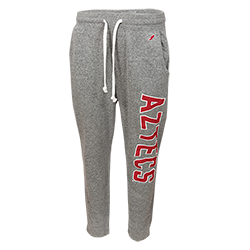 Aztecs Triblend Sweatpants-Gray