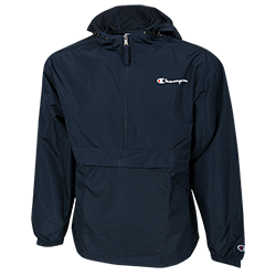 Champion Water Resistant Packable Jacket-Navy