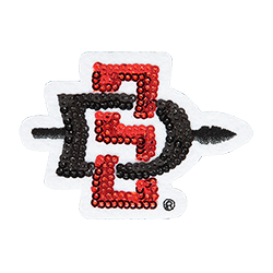 Sequin SD Spear Patch