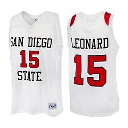 Kawhi Leonard #15 Basketball Jersey S White