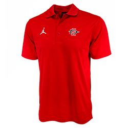 Nike Jordan SD Spear Jumpman Polo - Red