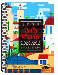 Sdsu 2021 Calendar shopaztecs   SDSU 2020 2021 Mortar Board Daily Planner & Calendar