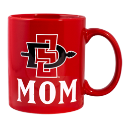 SD Spear Mom Mug -Red