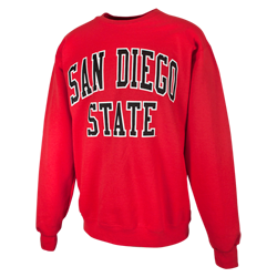 San Diego State Classic Crew - Red