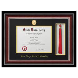 classic tassel diploma frame - Diploma Frames