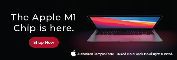 The Apple M1 chip is here. Shop now.