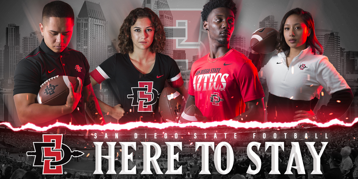 San Diego State Football. Here to stay.