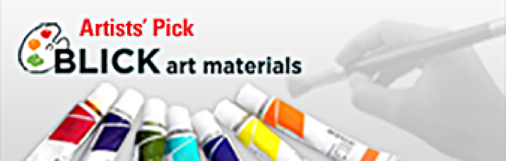 Artist Pick. Blick Art Materials.